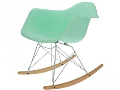 Image of the item Eames Rocking Chair RAR - Menta verde