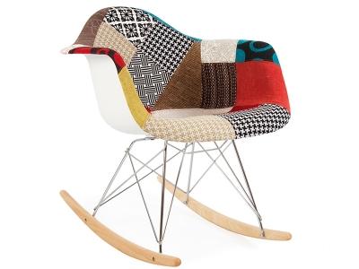 eames rocking chair rar blanc. Black Bedroom Furniture Sets. Home Design Ideas