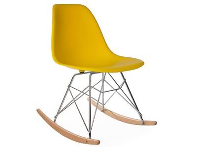 Image de l'article Eames Rocking Chair RSR - Jaune moutarde