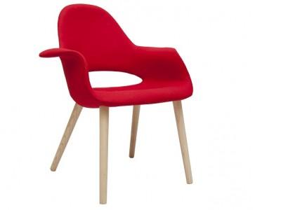 Image de l'article Eero Aarnio Organic Chair - Rouge