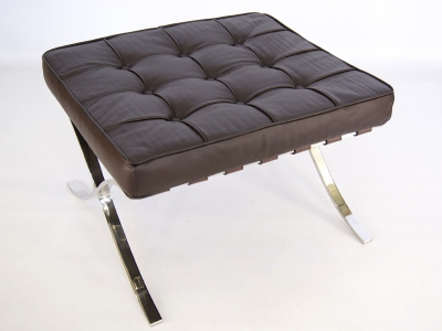 Image of the item Ottoman Barcelona - Marrone scuro