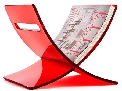 Image de l'article Porte revue The Cross - Rouge