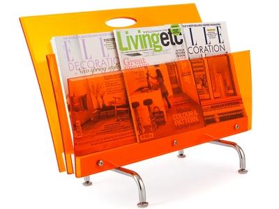 Image de l'article Porte revue The Step - Orange