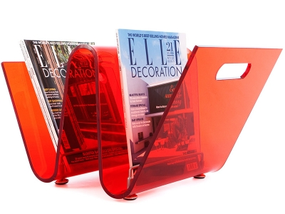Image de l'article Porte revue The Wave - Rouge
