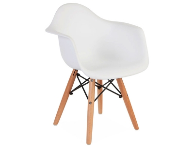 Image of the item Sedia Bambino Eames DAW - Bianca