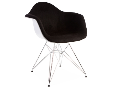 Image of the item Sedia DAR imbottito lana - Nero