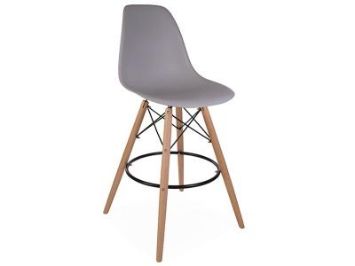 Image of the item Sedia di bar DSB - Grigio topo