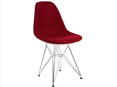Image of the item Sedia DSR imbottito lana - Rosso