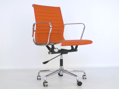 Image of the item Sedia Eames Alu EA117 - Arancione