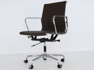 Image of the item Sedia Eames Alu EA117 - Marrone scuro