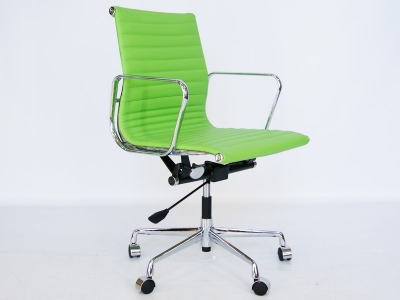 Image of the item Sedia Eames Alu EA117 - Verde mela