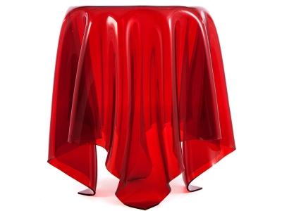 Image de l'article Table d'appoint Illusion - Rouge