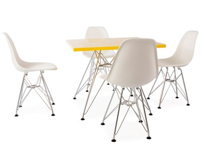 Great image de luarticle table enfant eiffel chaises dsr for Eames chaise enfant