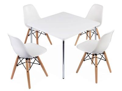 table enfant jasmine 2 chaises dsw. Black Bedroom Furniture Sets. Home Design Ideas