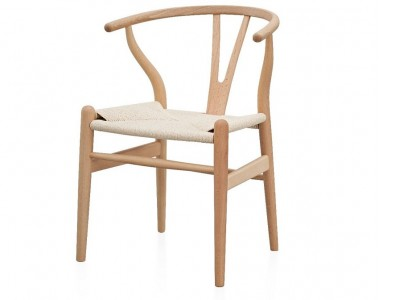 Image of the item Wegner Sedia Wishbone CH24 -  Legno naturale