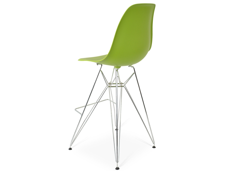 Image of the design chair Bar chair DSR - Apple green