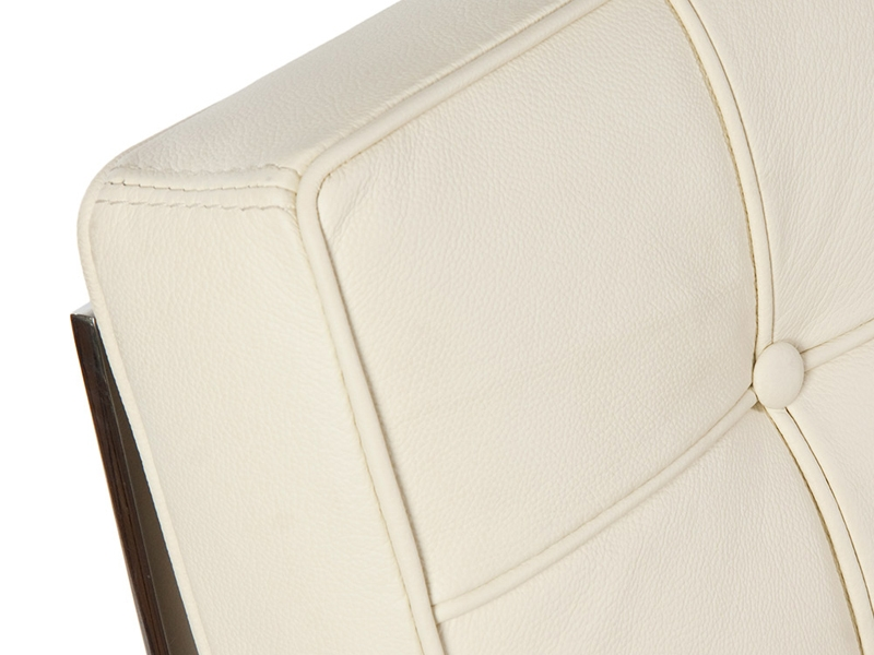 Image of the design chair Barcelona sofa 3 seater - Cream