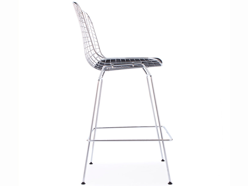Image of the design chair Bertoia Wire Bar Stool
