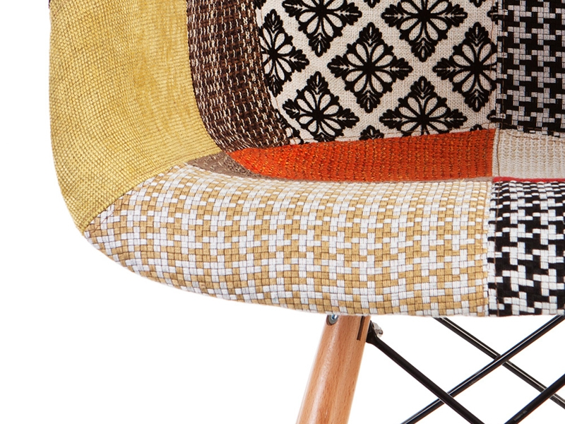 Image of the design chair DAB bar chair - Patchwork