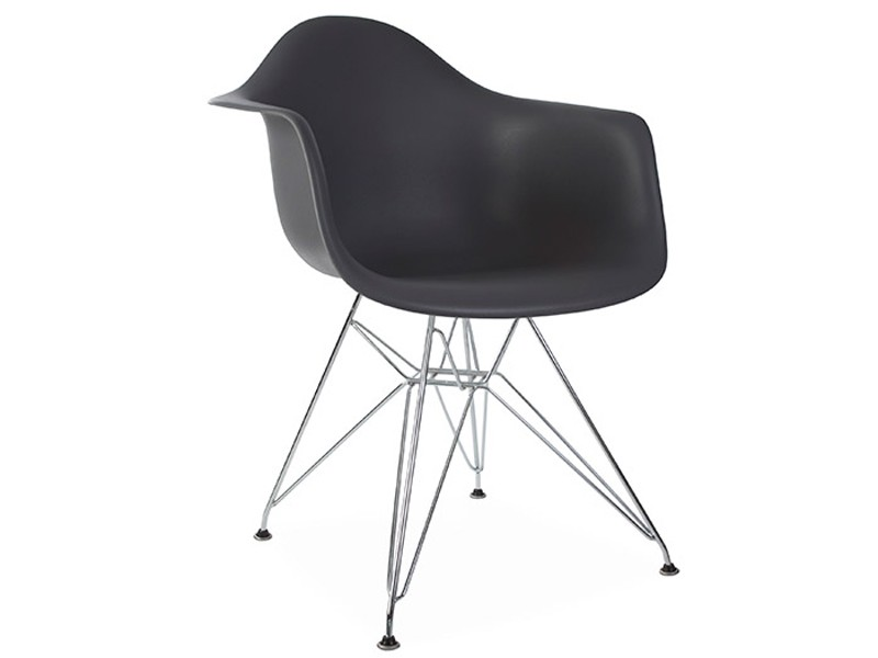 Image of the design chair DAR Eames chair - Anthracite
