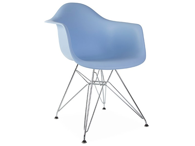 Image of the design chair DAR Eames chair - Light blue