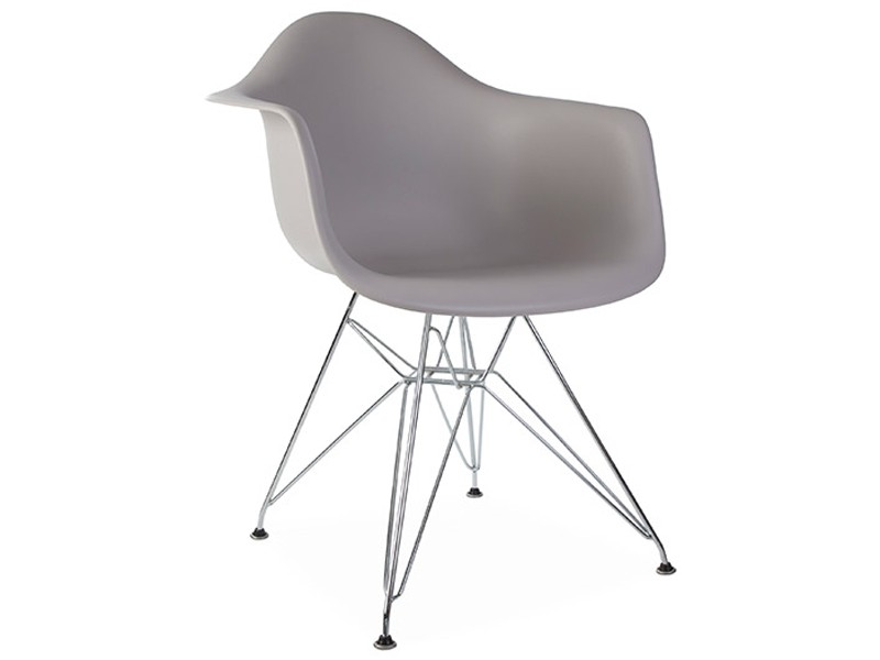 Image of the design chair DAR Eames chair - Mouse grey