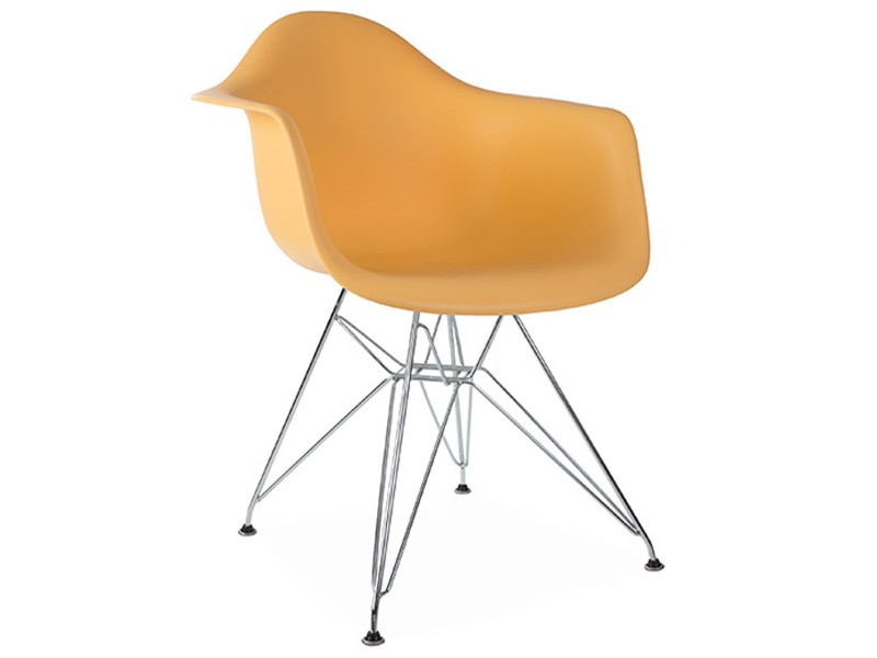 Image of the design chair DAR Eames chair - Orange