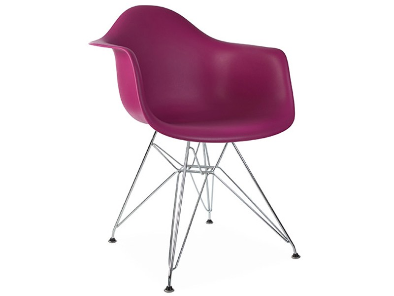 Image of the design chair DAR Eames chair - Purple