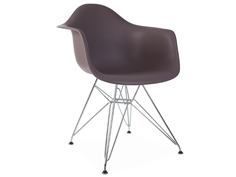 Image of the design chair DAR Eames chair - Taupe