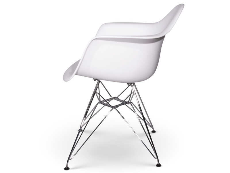 image of the design chair dar eames chair white