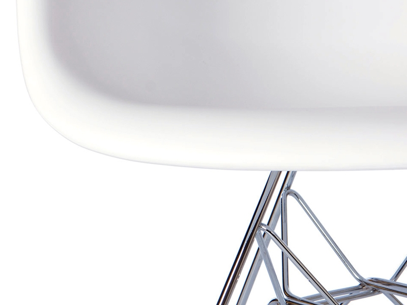 Image of the design chair DAR Eames chair - White