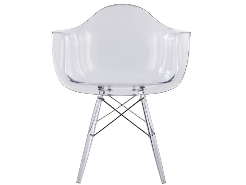Image of the design chair DAW chair All Ghost - Clear