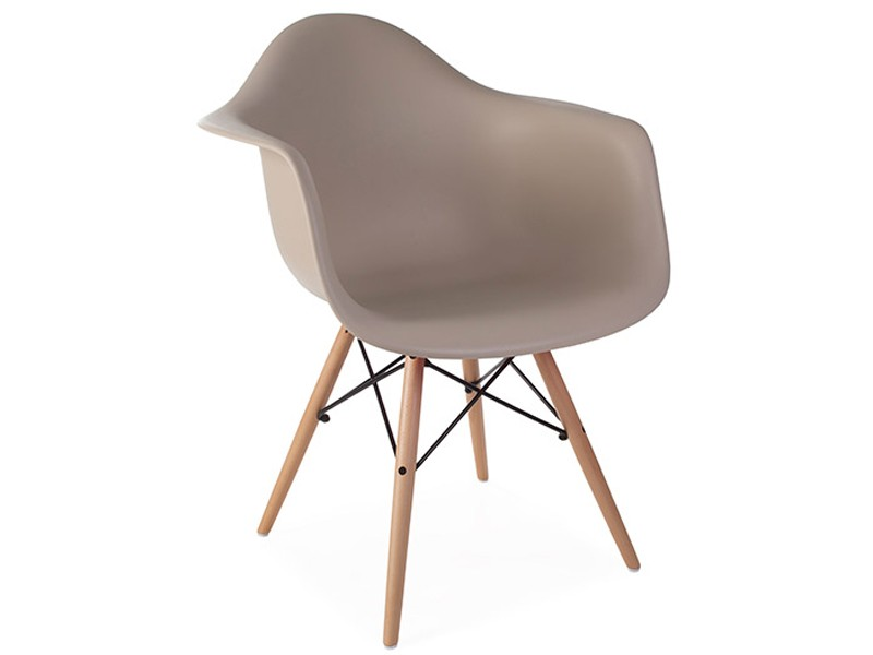 Image of the design chair DAW Eames chair - Beige grey
