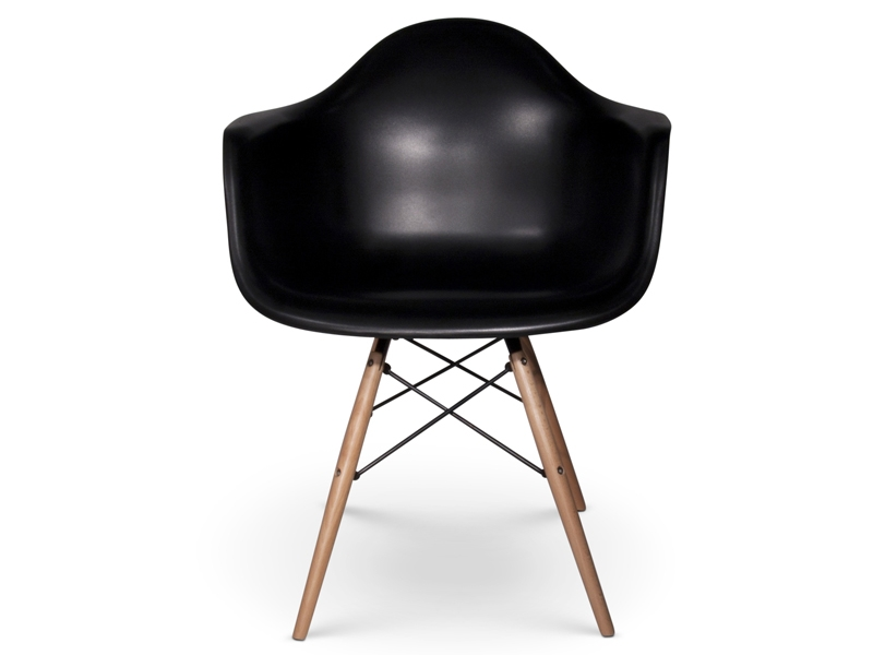 Image of the design chair DAW Eames chair - Black