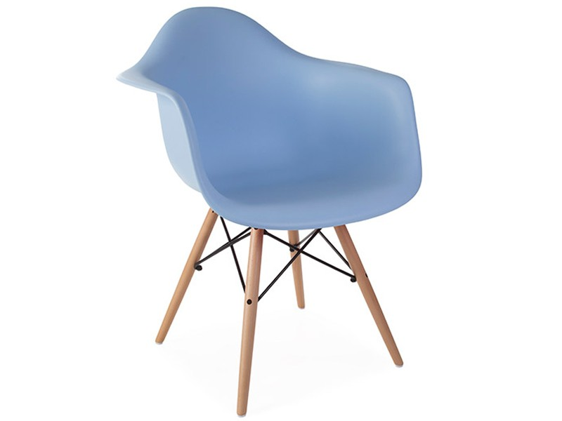 Image of the design chair DAW Eames chair - Light blue