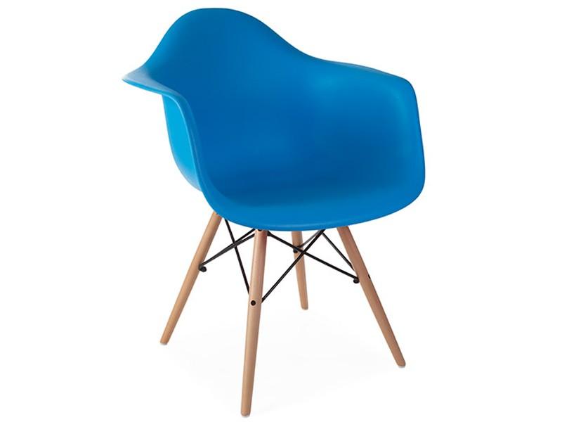 Image of the design chair DAW Eames chair - Ocean blue