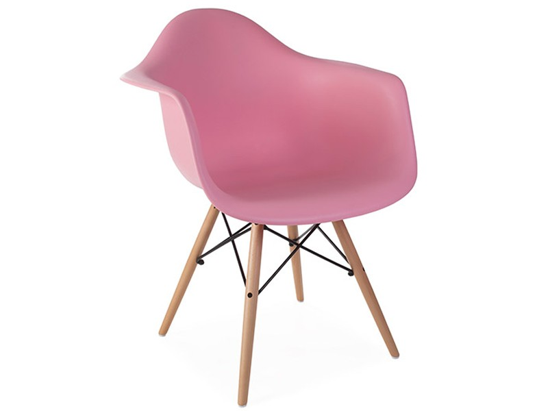 Image of the design chair DAW Eames chair - Pink