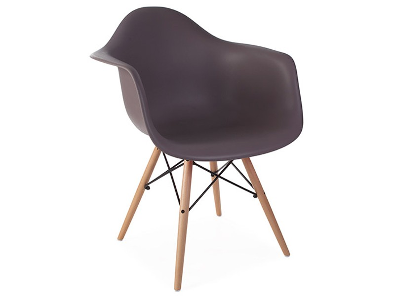 Image of the design chair DAW Eames chair - Taupe