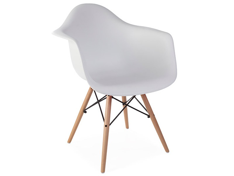 Image of the design chair DAW Eames chair - White