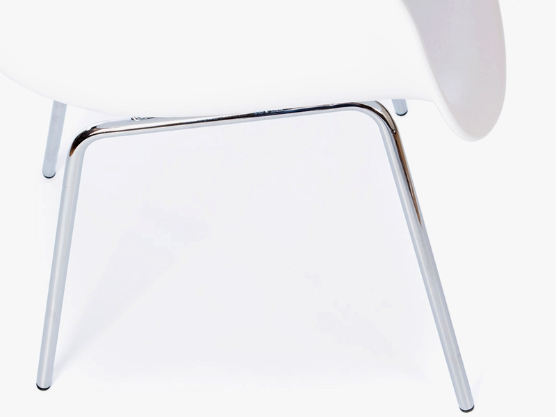 Image of the design chair DAX Eames chair - White