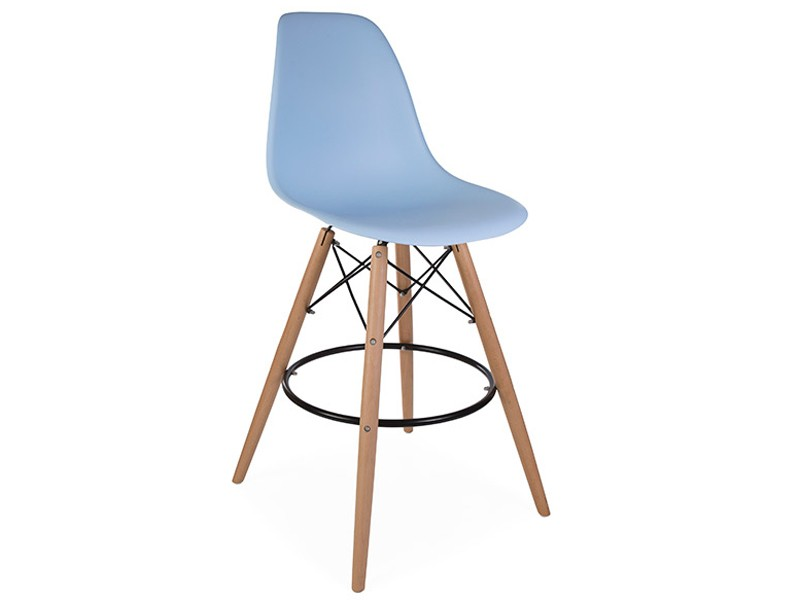 Image of the design chair DSB bar chair - Light blue