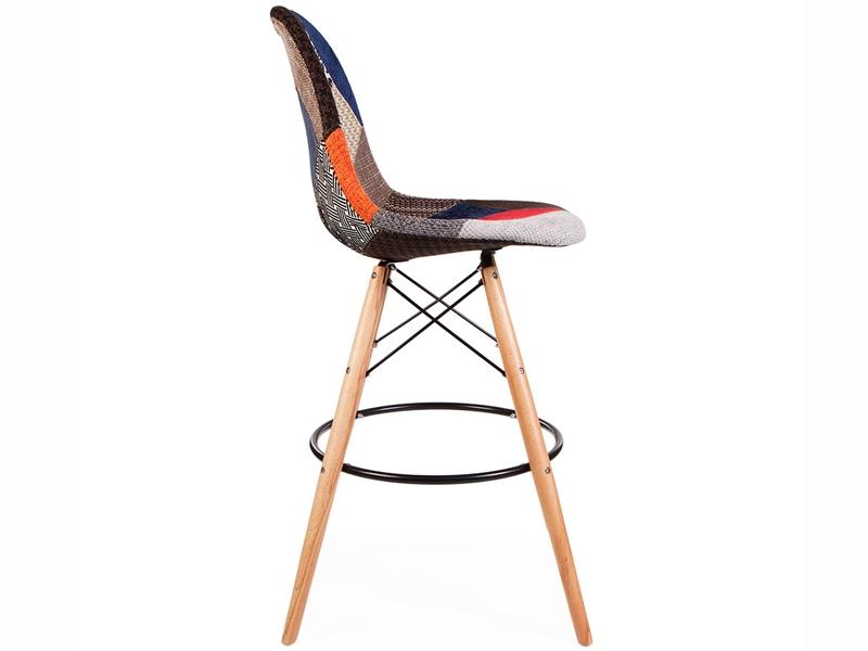 dsb bar chair patchwork. Black Bedroom Furniture Sets. Home Design Ideas
