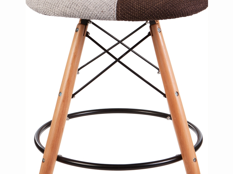 Image of the design chair DSB bar chair - Patchwork