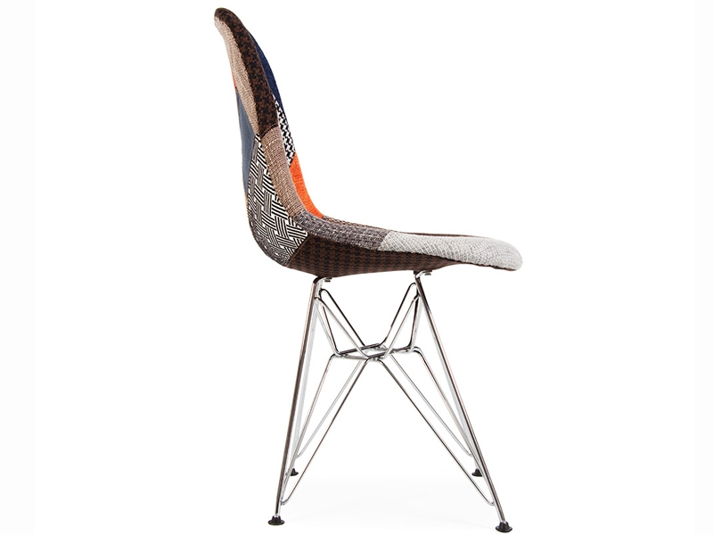Image of the design chair DSR chair padded - Patchwork