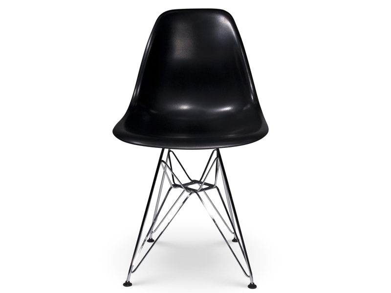 Image of the design chair DSR Eames chair - Black