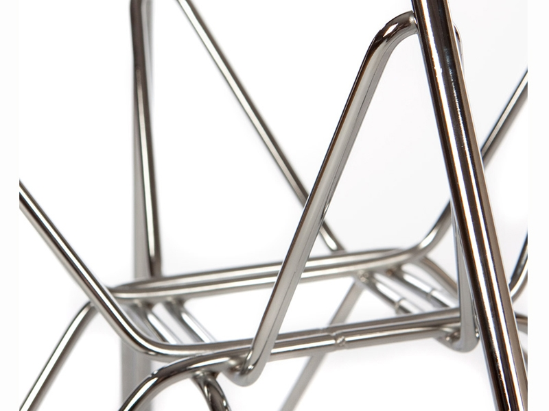Image of the design chair DSR Eames chair - Clear grey