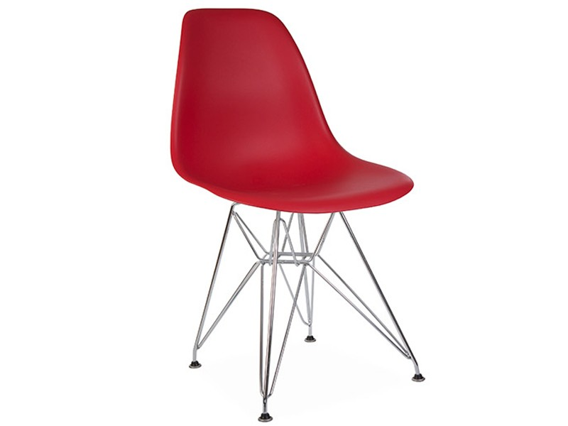 Image of the design chair DSR Eames chair - Garnet red