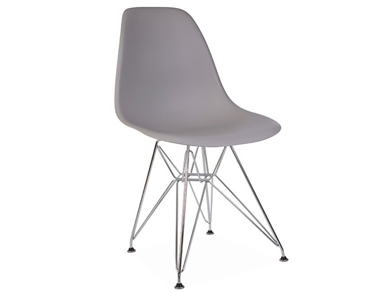 Image of the design chair DSR Eames chair - Mouse grey