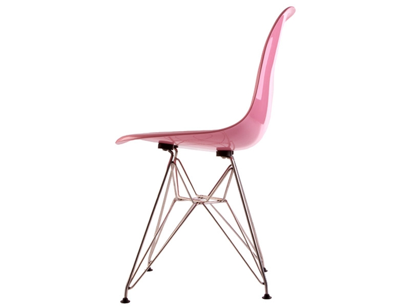 Image of the design chair DSR Eames chair - Pink shiny