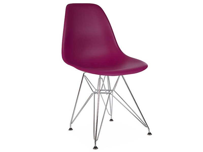 Image of the design chair DSR Eames chair - Purple